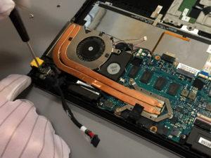 układ chłodzenia laptopa