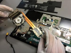 wymiana wentylatora w laptopie sony vaio svp132